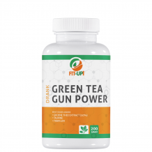 Green tea gun power | drank